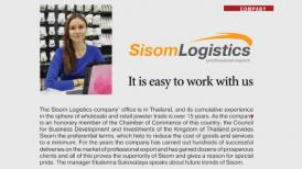 Sisom Logistics at Jewellery Review Professional