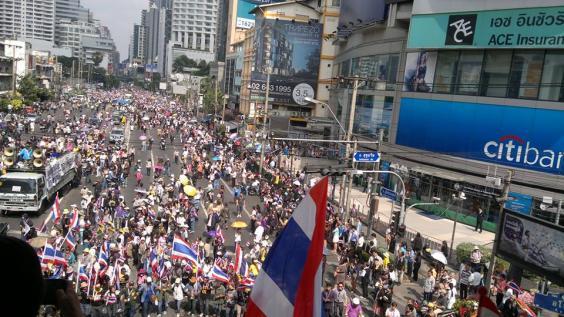 bangkok protesters